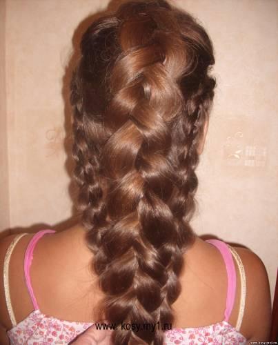 прически на длинные волосы дракончики