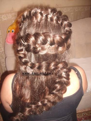 Плетение кос в контакте